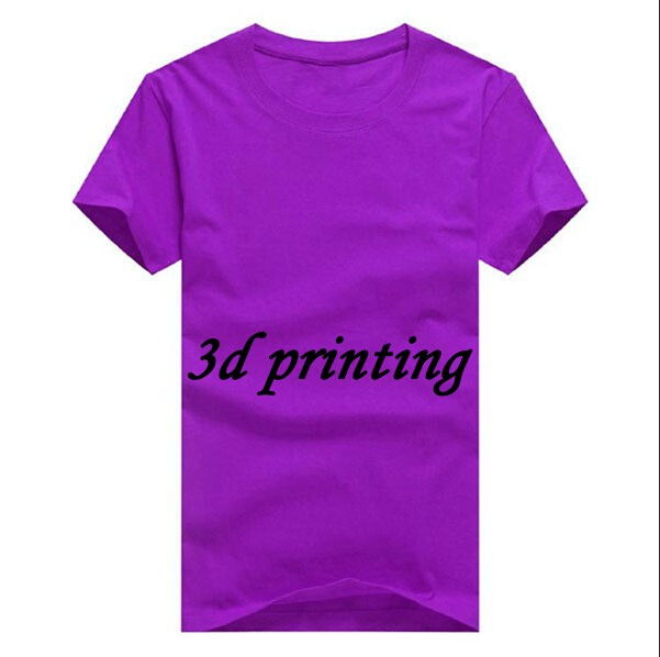 100% Cotton T shirt Printing Custom T Shirt