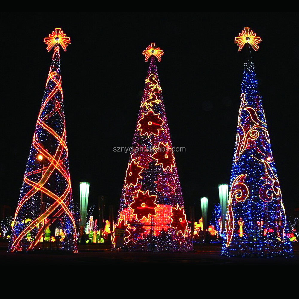 Outdoor christmas tree decorations - Outdoor Giant Led Christmas Tree Outdoor Giant Led Christmas Tree Suppliers And Manufacturers At Alibaba Com