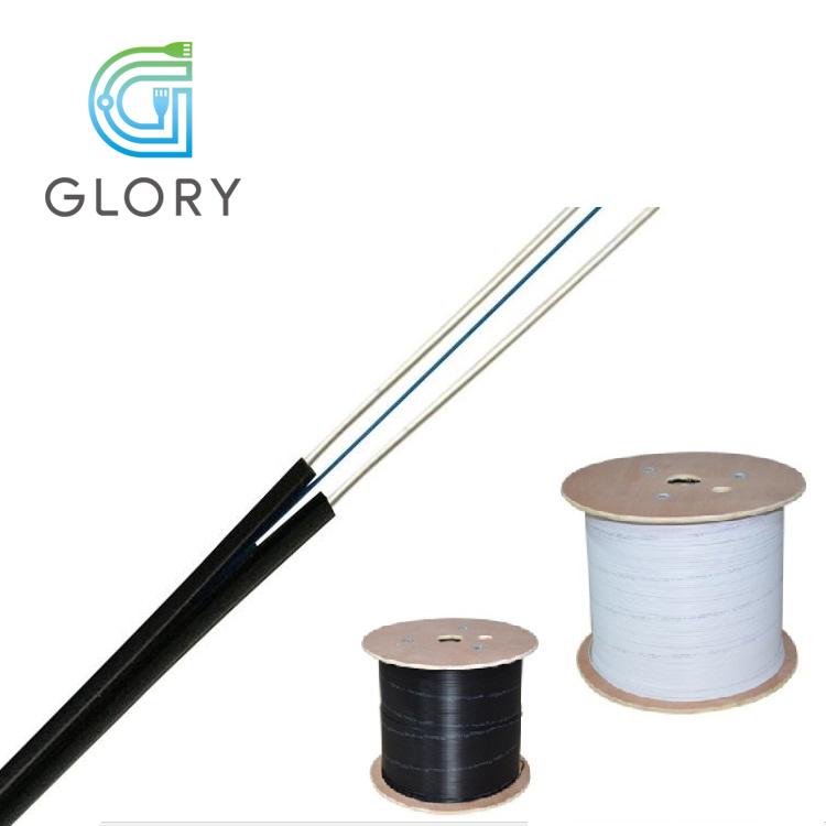 High Quality Fiber Optic Cable 1, 2, 4 core Indoor FTTH Drop Cable