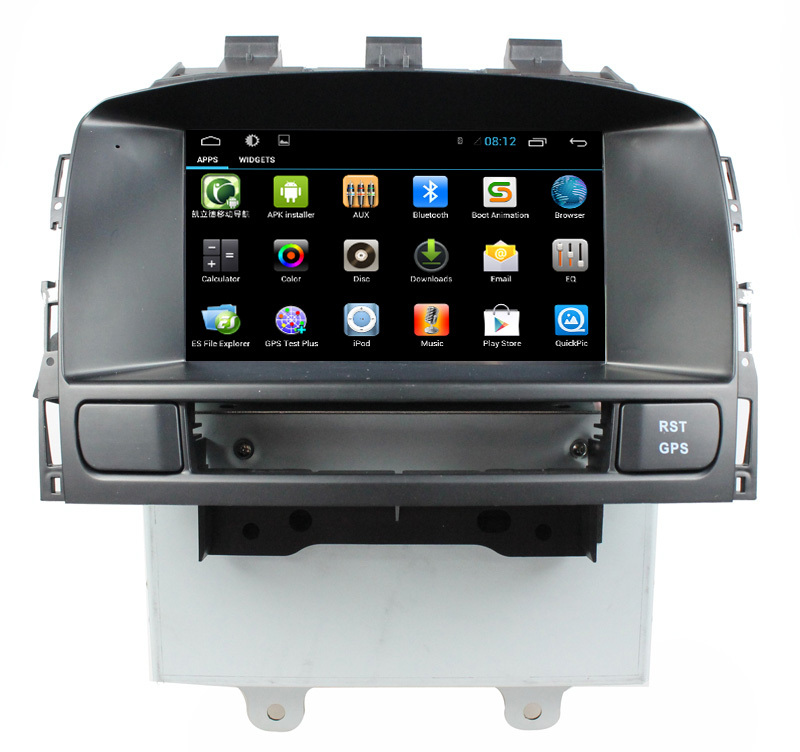android 4 4 car dvd player for opel astra j with gps navi. Black Bedroom Furniture Sets. Home Design Ideas