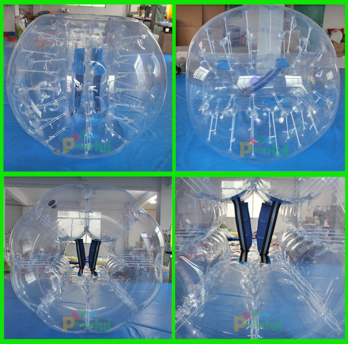 Commercial quality Soccer Body Zorb/bubble ball for football/soccer ball size 1.5m