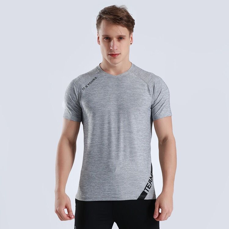 High Quality Mens Workout T-Shirt Wholesale Custom Bodybuilding Gym Clothes