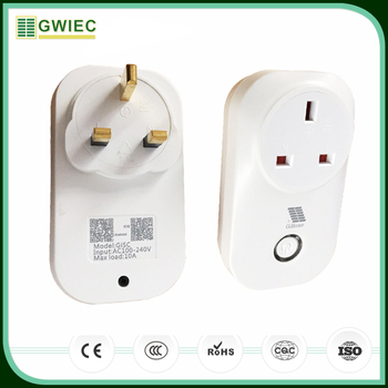 Gwiec New Products 2017 Gisc Household Remote Wifi Smart Plug Socket ...