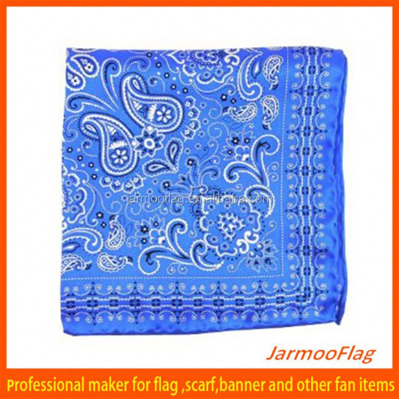 blue headwear multifunctional polyester bandana