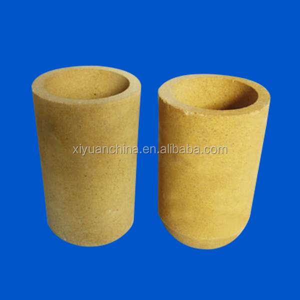 Fast Delivery high temperature high purity MgO Magnesia melting ceramic crucible