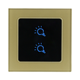 GW-6322-V smart two way zwave light switch with waterproof touch screen