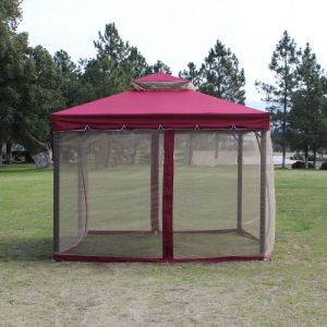 Factory Best Price Outdoor Gazebo Canopy PU Water Proof Pop Up Gazebo