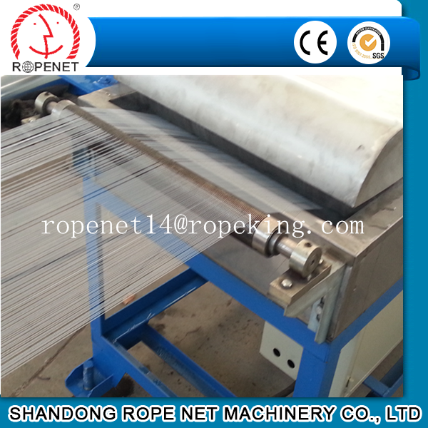 pp/pe extruding machine yarn extrusion line Contact Tom: ropenet14@ropeking.com/skype:zrsun@live.com/86 188 5386 6282
