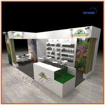 Simple Exhibition Stand : Modern simple customized exhibition booth display acrylic display