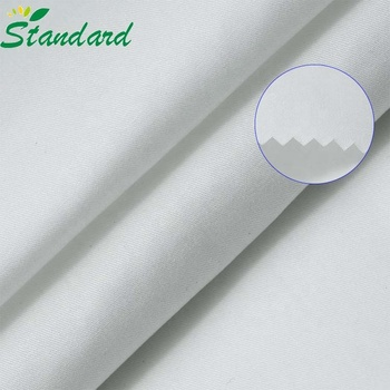 High Quality Plain Dyed 100% Cotton Twill Fabric For Trousers