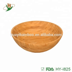 Premium bamboo fruit bowl