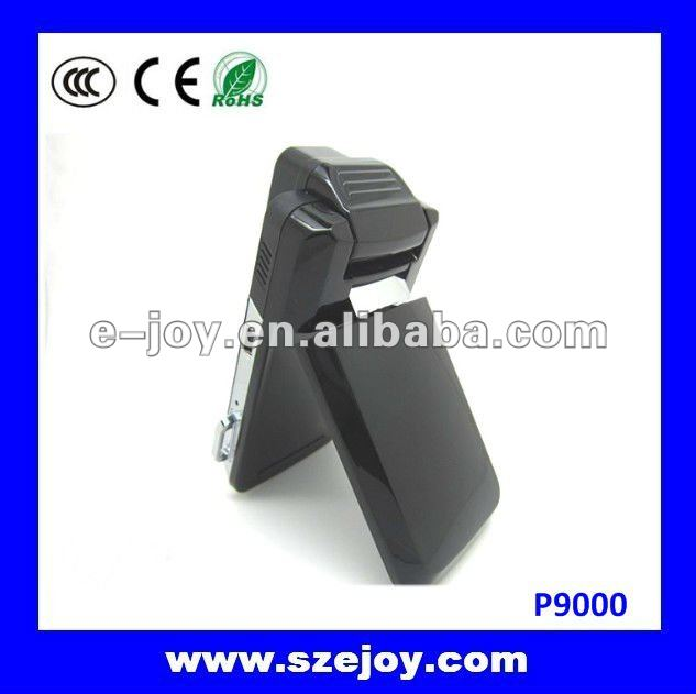 2012 Newly designed car black box, fashional ultra-thin appearance, 140 Degree Wide Angle Lens Built-in stereo