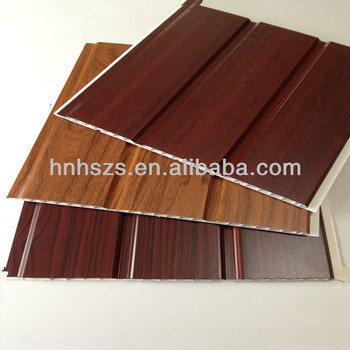Lightweight Ceiling Material Laminated Pvc Wood Panels
