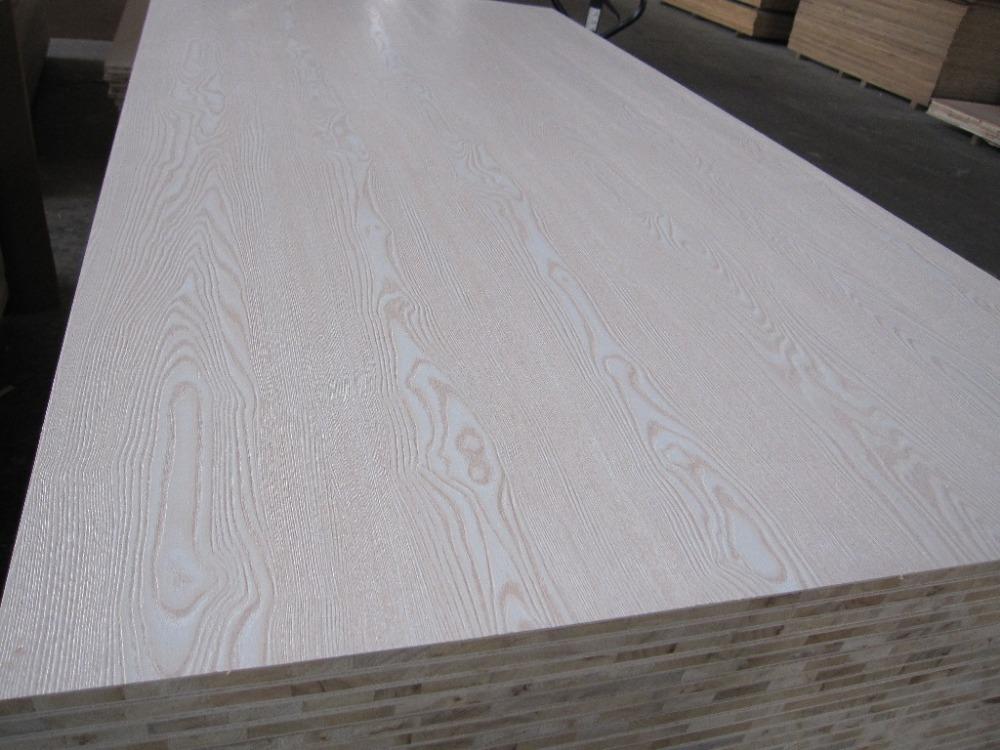 Plastic Veneer Plywood ~ Rotary cut veneer red oak plywood from nanning guangxi
