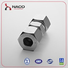 Alibaba com 12S Stainless Steel 304 Single Ferrule Union for gas