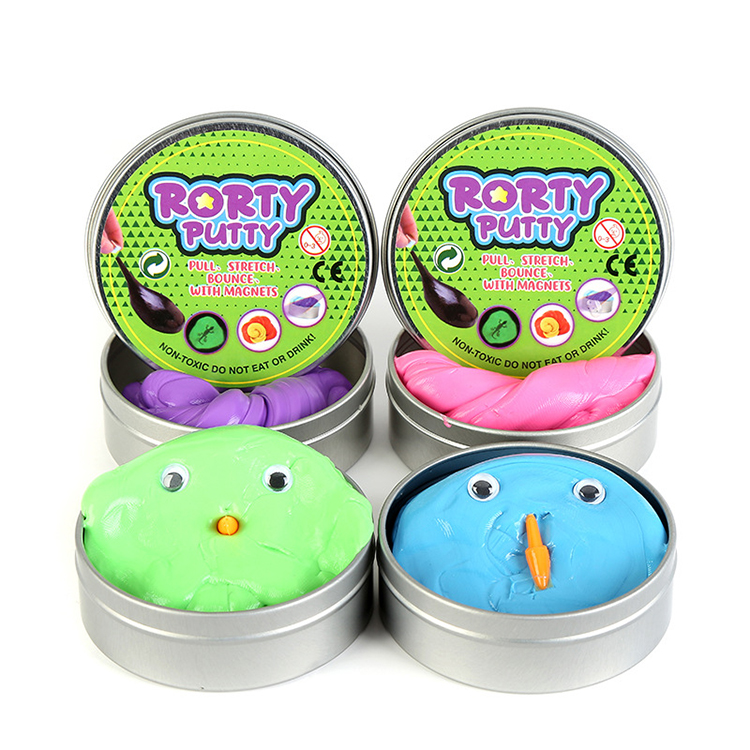 Hot Sale Funny Office Stress Relief Bouncing Putty Toy Playdough