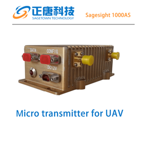 Sagesight 1000 20km long range video transmitter professional