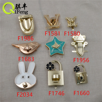 handbag clasps metal suitcase parts 25*20mm bag accessories f-905