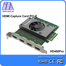 4-Channel MPEG4 DVR Video Capture PCI Card for Security Cameras