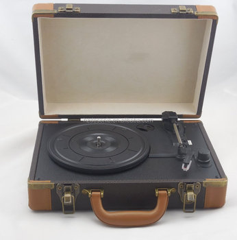 Best Sell Vintage Vinyl Record Bluetooth Suitcase Turntable Players With  Speakers - Buy Vintage Bluetooth Suitcase Turntable,Vinyl Players With