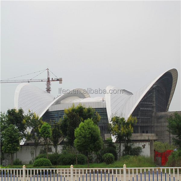 windproof space frame ball for stadium