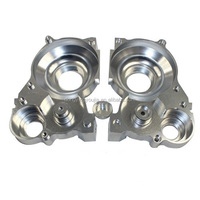 Custom made motorcycle parts with CNC machining aluminum parts