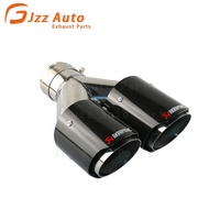 JZZ high quality car accessories akrapov ic exhaust tip/Muffler pipe for audi for a5