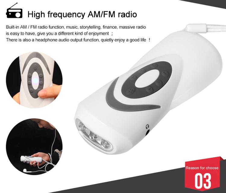 2018 ano Japão venda quente emergência manivela rádio