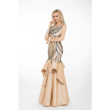Top Import Handwork Beaded Floor Length Wedding Dress Patterns - Buy ...