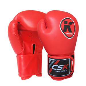 Wholesale PU Lining Silica Gel Bulk Red Personalized Twins Kick Boxing Gloves price