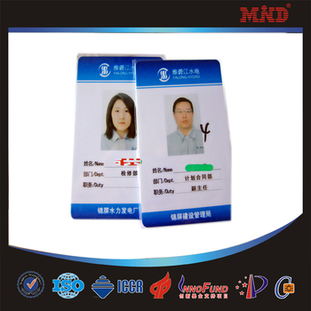 Mdc0003 Customized Printing Sample Employ Id Cards - Buy Employee