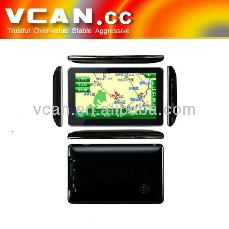 7 inch Android TFT car gps navigation with wireless rearview camera VCAN0183
