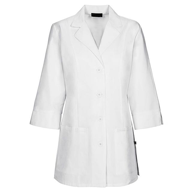 2020 OEM व्हाइट डॉक्टर वर्दी अस्पताल सफेद कोट चिकित्सा डॉक्टर प्रयोगशाला कोट