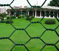 Double twisted hexagonal mesh/hesco/galvanized hexagonal wire mesh