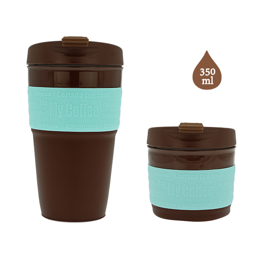 Collapsible travel mug Silicone Coffee Cup