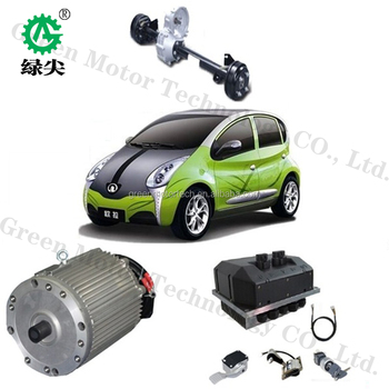 Low price electric car hub motor 15kw driving kit with CE
