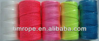 Nylon twist twine Fluorescent pink and yellow