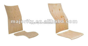 plywood chair back and plywood chair seat