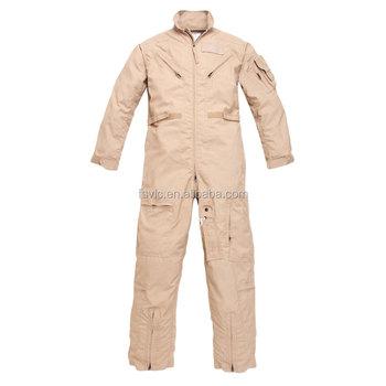 b59b5245709f Tan Color Pilot Coverall Nomex Flight Suits - Buy Nomex Flight ...