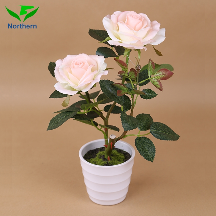 wholesale real touch home decorative colorful rose artificial flower