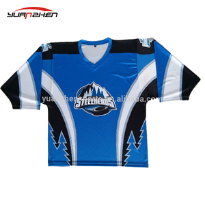 Hot newest gym sublimation printing reversible ice hockey jersey in bulk