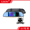 "GPS Navigation 7"" Iinch Android HD DVR Car Camera Rear View Mirror Reverse Recorder"