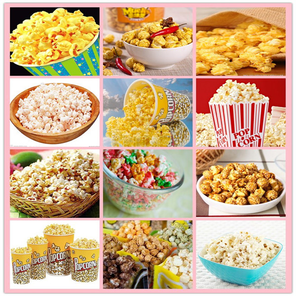 Automatic Continuous Caramel Popcorn Manufacture Machine Include ...