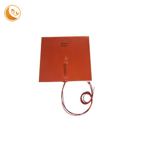 200*200mm 240v 250w silicone rubber heater manufacturer