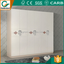 Morden steel material Low price garderobe home furniture