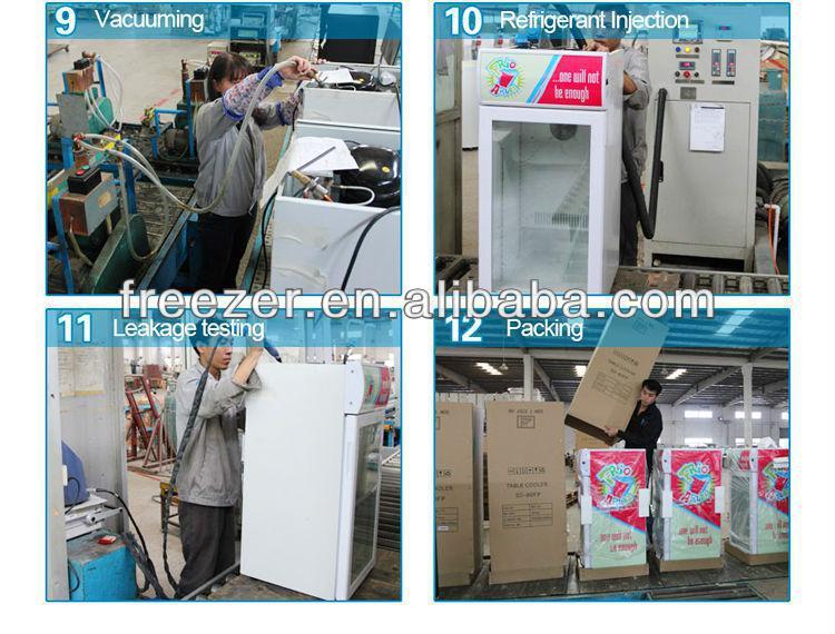 Kleiner Kühlschrank Glastür : Tischplatte kommerziellen display mini kühlschrank glastür