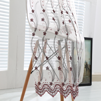 Exclusive ready made white embroidery curtains and purple flowers exclusive ready made white embroidery curtains and purple flowers for decorative home curtains mightylinksfo