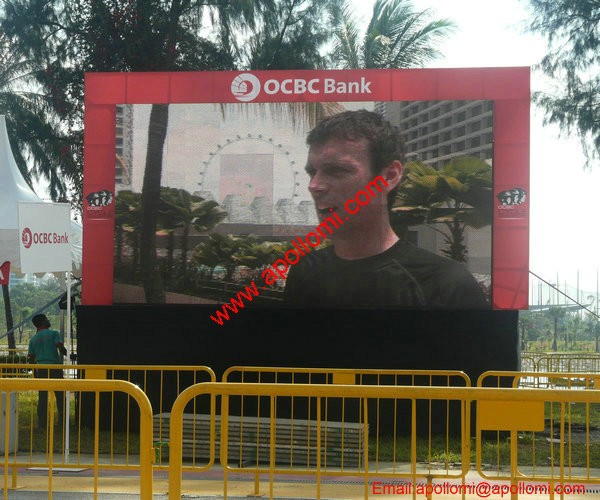 full color RGB media advertisement video message P16 led signs