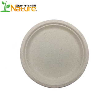 Natural Wheat Fibre Plates and Bowls - Little Cherry |Wheat Paper Plates