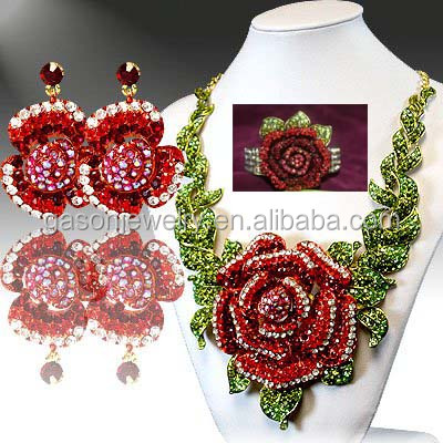 Factory wholesale high quality artificial jewelry set